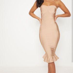 PrettyLittleThing Dresses - Bandage midi dress